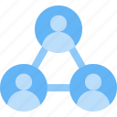 group, relation, seo, share, social network, team, users icon