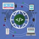 code, design, development, seo, system, tools, web icon