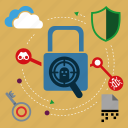 lock, mode, protect, safe, secure, security, seo icon