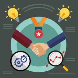 bulb, business, finance, idea, marketing, office, seo icon