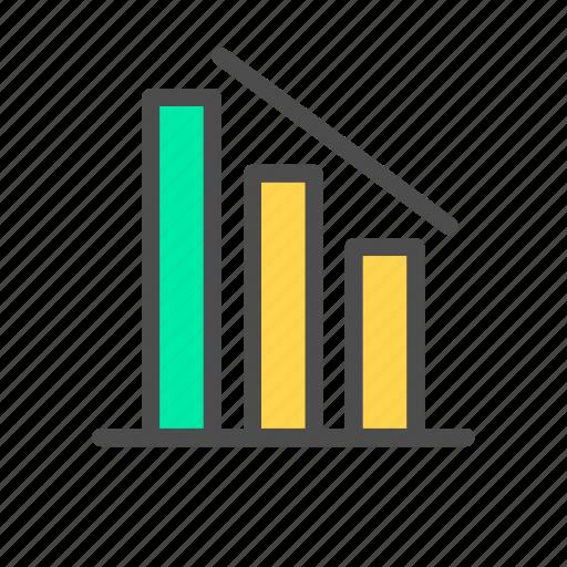 chart, data, line, seo icon