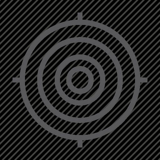aim, dart, focus, game, goal, success, target icon