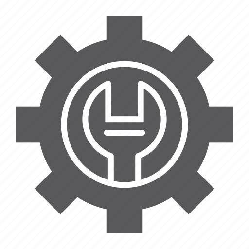gear, maintenance, repair, service, setting, support, technical icon
