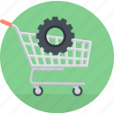 ecommerce, flat design, online, optimization, seo, shopping, website icon