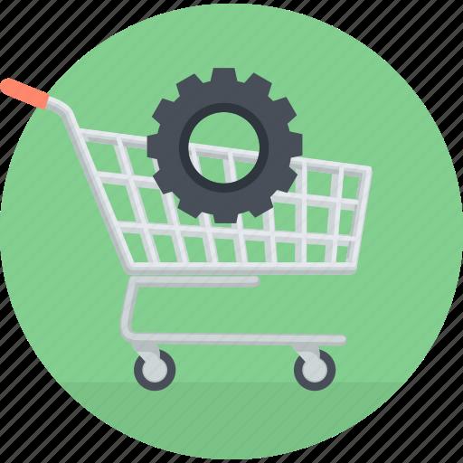 ecommerce, flat design, online, optimization, seo, shopping, website icon