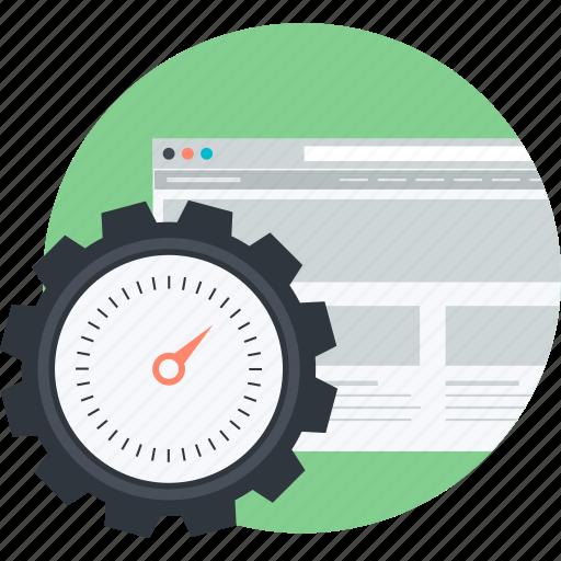 content, flat design, optimization, page, round, seo, web icon