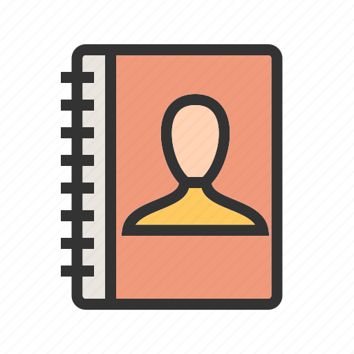 authorship, business, file, front, online, text, view icon