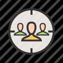 advertising, audience, business, marketing, people, target, targeting