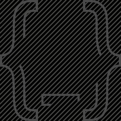back end, code, coding, optimization icon