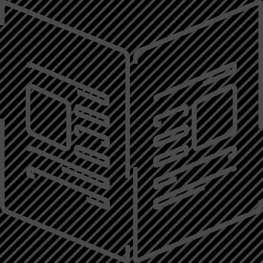 news, newspaper, press, release icon