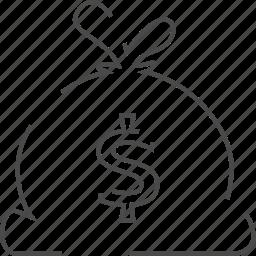 affiliate, bucks, dollar, money icon