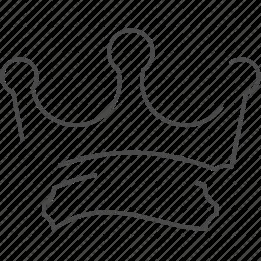 crown, king, premium, service icon