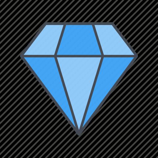 diamond, gem, gemstone, jewellery, jewelry icon