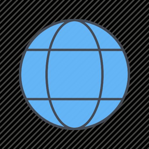 earth, globe, web, world icon