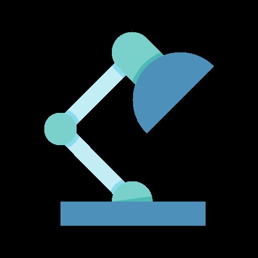 case, lamp, study icon