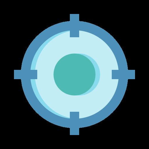 keyword, market, target icon