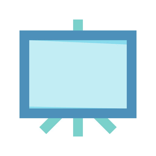 Presentation, seo, training icon - Free download