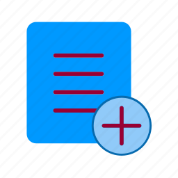 add, business-add, cart, extension, file, new, plus icon