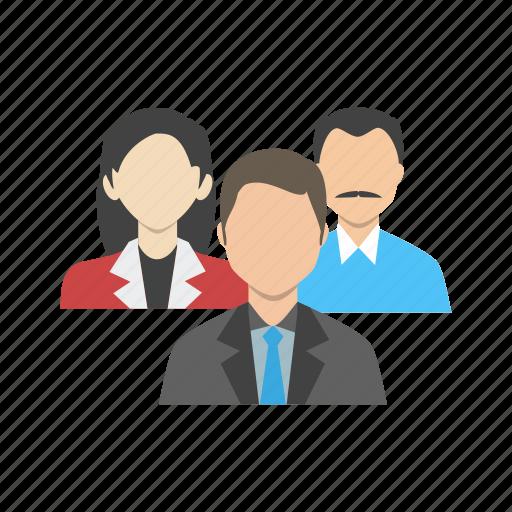 community, corporate, human, media, network, people, team icon