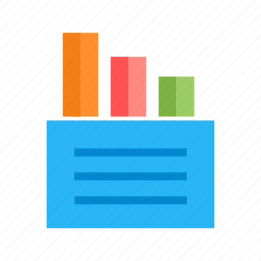 advertise, analytics, document, marketing, page, report, statistics icon