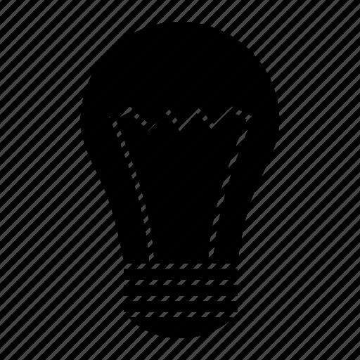 bulb, creativity, idea, illuminate, imagination, light icon