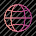 globe, site, web
