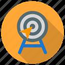 aim, focus, goal, purpose, success, target icon icon