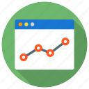 analytics, diagram, financial, monetization, monitoring, report, sales icon icon