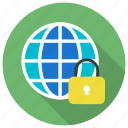anti virus, lock, network, private, secure, security, vpn icon icon