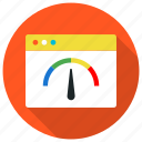 browser, connection, dashboard, loading, pagespeed, productivity icon icon