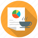 coffee, content, cup, fresh icon icon