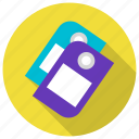 label, price, seo, tags icon icon