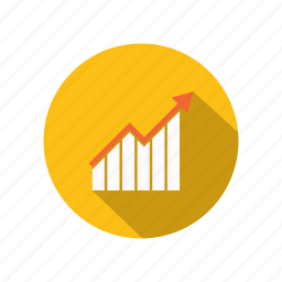 business, finance, graphic, seo, statistic icon