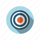business, finance, market, seo, target icon