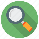 find, glass, magnifier, search, searching, seo, zoom icon icon
