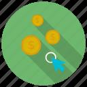 click, pay, pay per click, per icon icon