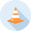building, cone, construction, road, site, traffic, warning