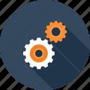 cogwheel, engine, gear, mechanics, options, process, settings