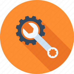 cogwheel, options, preferences, repair, settings, system, tool icon
