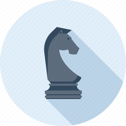 chess, figure, game, knight, plan, strategy, tactic icon