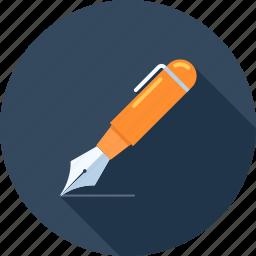 blog, compose, copy, copywriting, pen, web, write icon