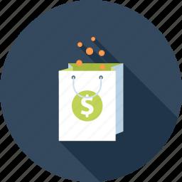 bag, buy, commerce, digital, ecommerce, money, shopping icon