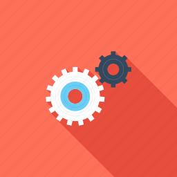 cogwheel, engine, gear, mechanics, options, process, settings icon