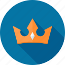 award, crown, king, premium, royal, royalty, service icon