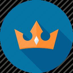 award, crown, king, premium, royal, royalty, service icon