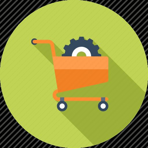 buy, cart, commerce, ecommerce, optimization, shopping, webshop icon