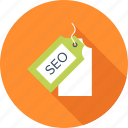 badge, label, network, search, seo, tag, title