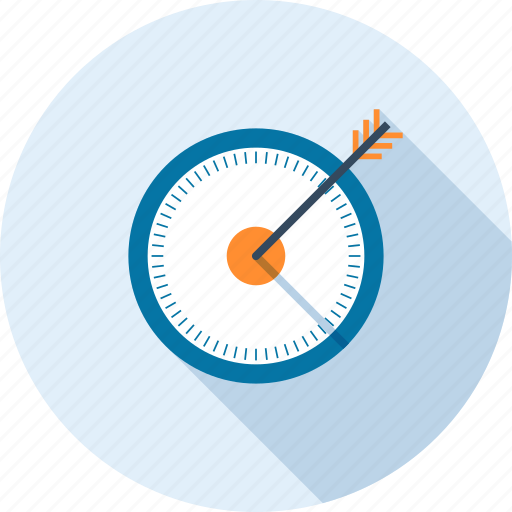 goal, optimization, performance, seo, success, target, web icon