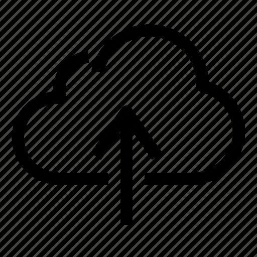 cloud, seo, storage, upload icon