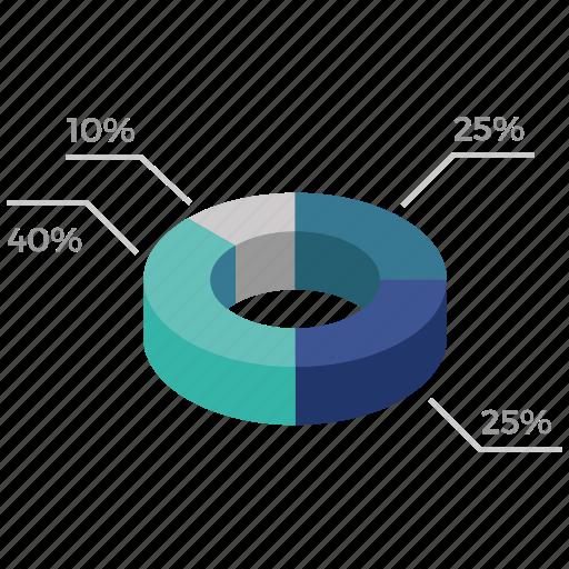 circle, infographics, seo icon